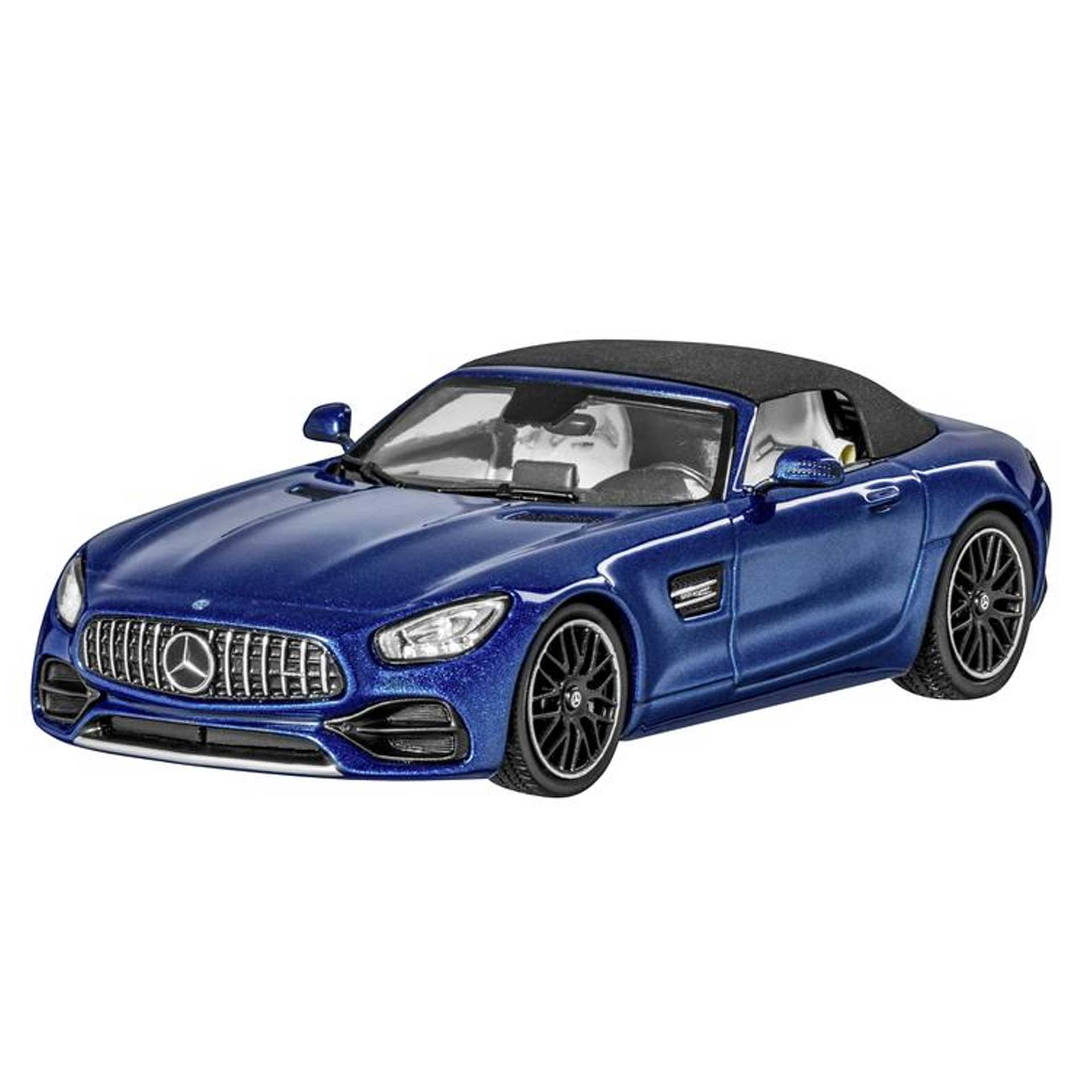 Mercedes-Benz AMG GT Roadster R190 Modellauto 1:43 brillantblau
