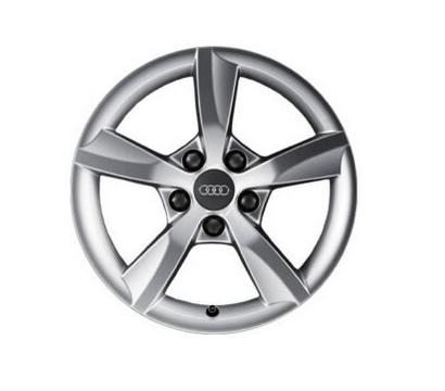Audi A6 1 Stück Aluminium-Gussrad im 5-Arm-Rotor-Design 16Zoll