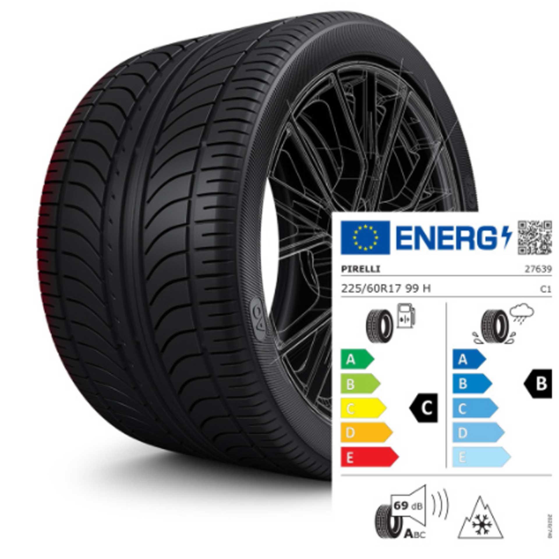 225/60 R17 99H Pirelli Sottozero 3 AO - Winterreifen