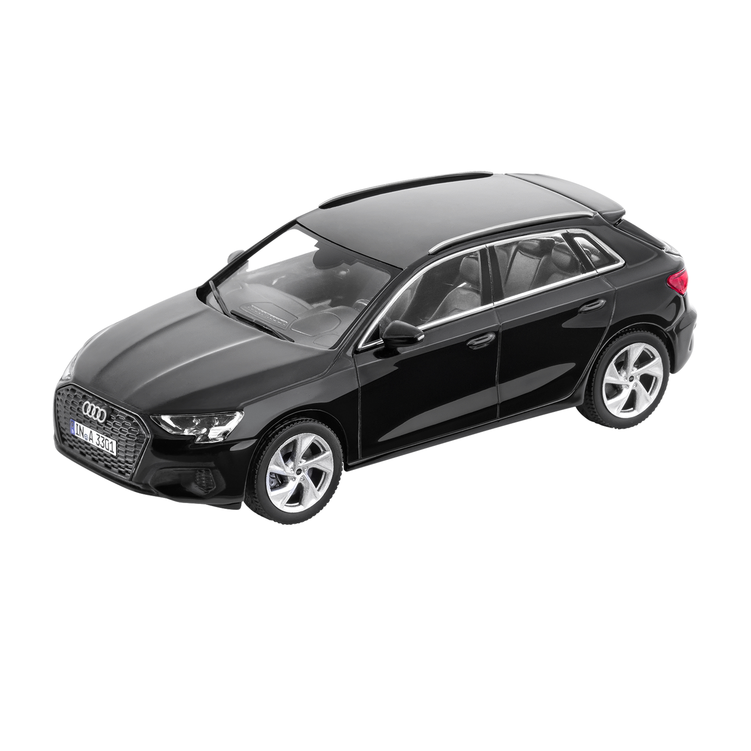 Audi A3 Sportback Mythosschwarz 1:43