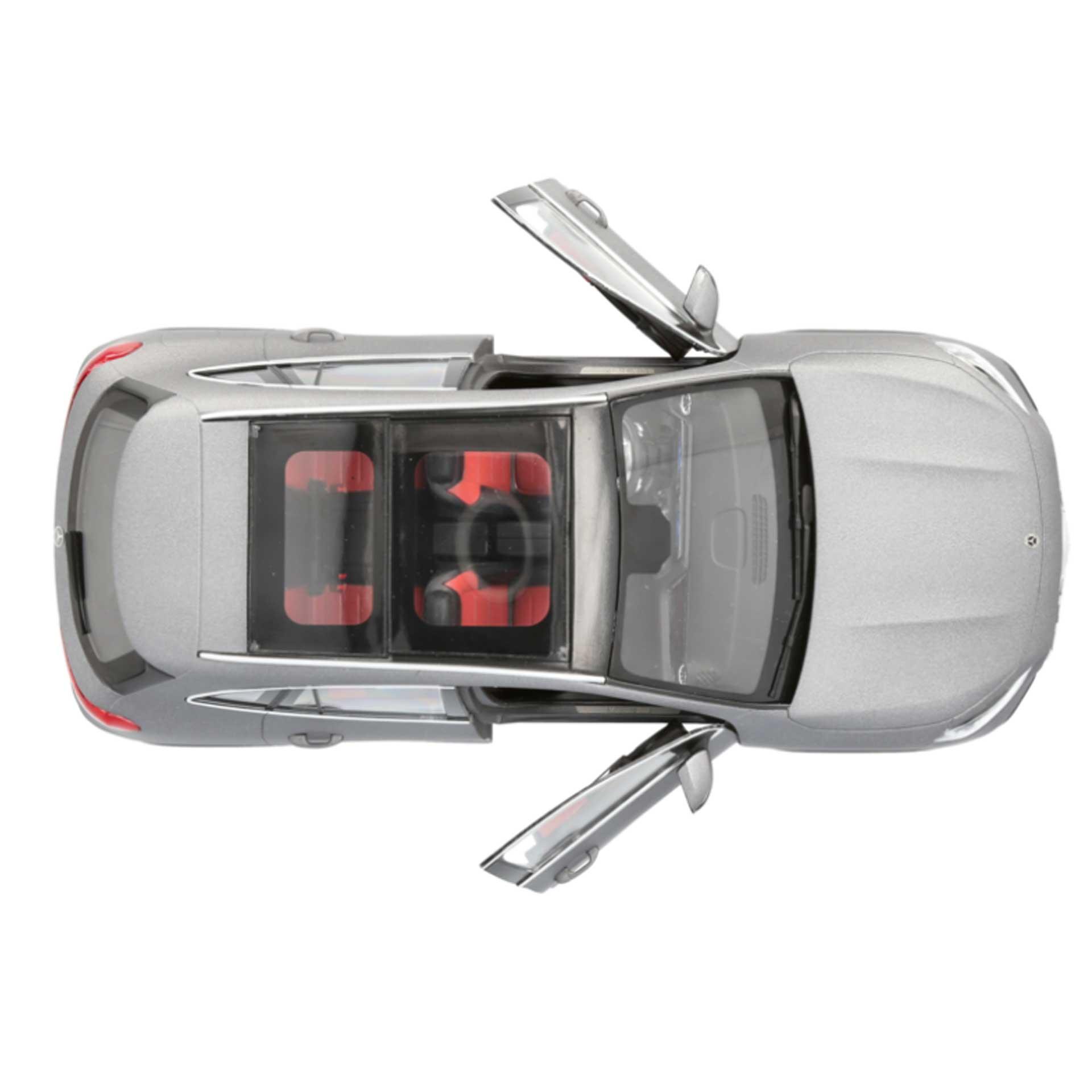 Mercedes-Benz GLA Modellauto H 247 1:18 designo mountaingrau magno