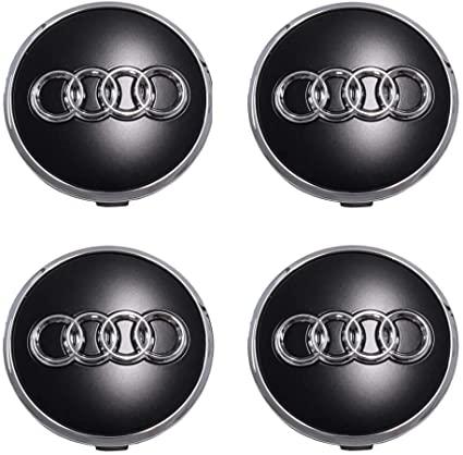 Audi Radzierkappe Felgendeckel Nabendeckel matt  4er Set