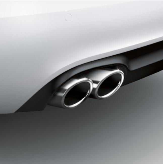 Audi Sport-Endrohrblenden A4 A5 S5