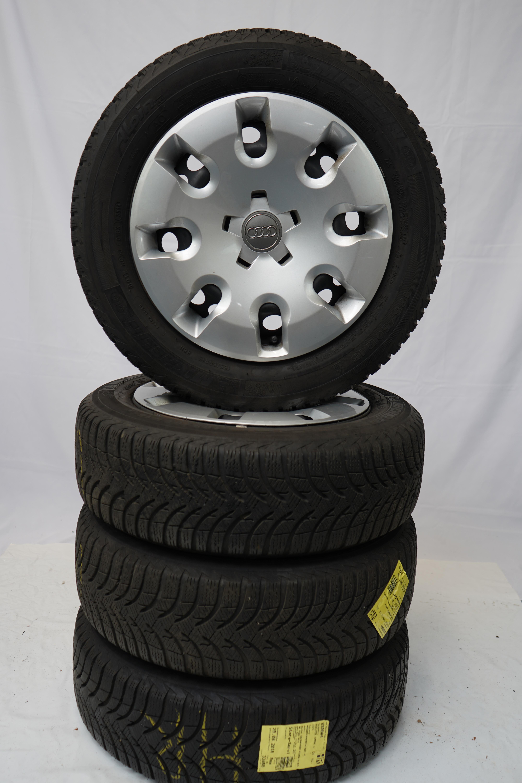 A1 (8X) Gebrauchter 15 Zoll Original Audi  Winterkomplettrad-Satz Michelin