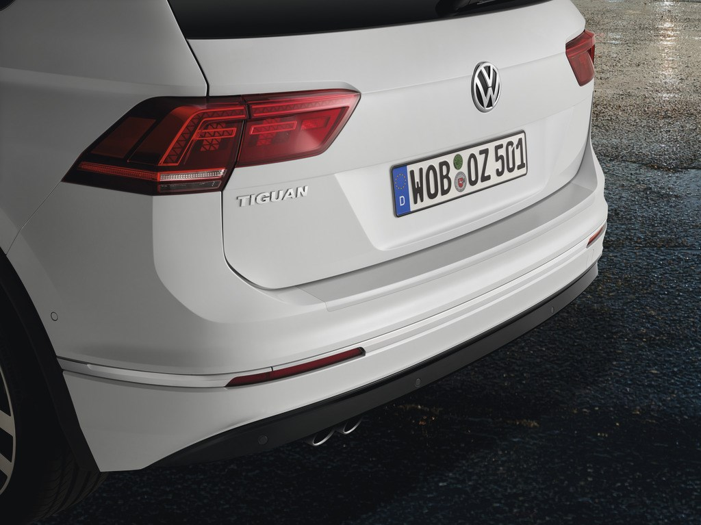 Volkswagen Ladekantenschutzfolie transparent Tiguan Schutzfolie Kofferraum