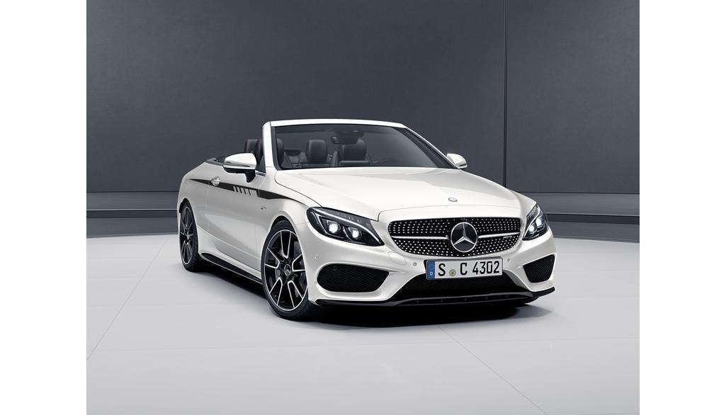 Mercedes-AMG C-Klasse  205 Sportstreifen Seite