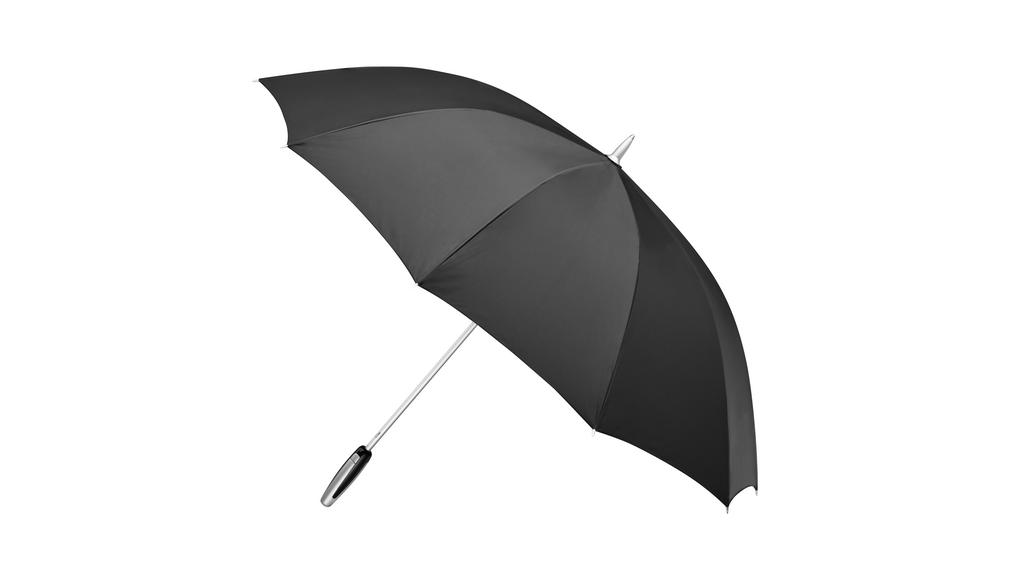 Mercedes-Benz Gästeschirm Regenschirm schwarz