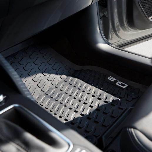 Audi Gummifussmatten vorn Q2 2 Stück