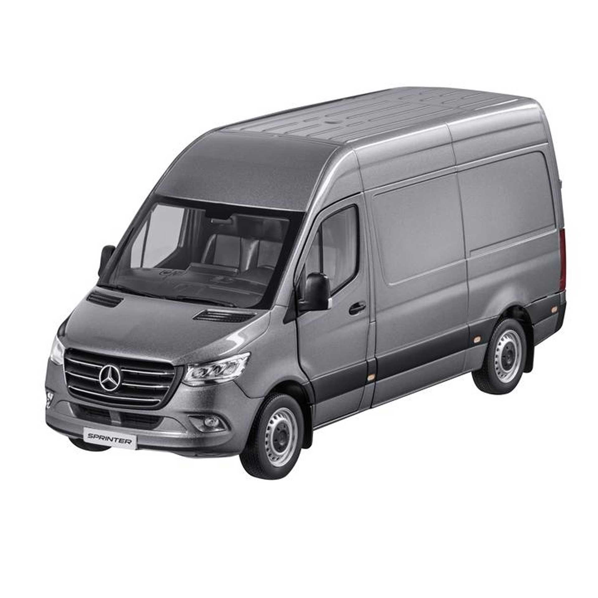 Mercedes-Benz Modellauto Sprinter Kastenwagen 1:18 designo selenitgrau magno metallic
