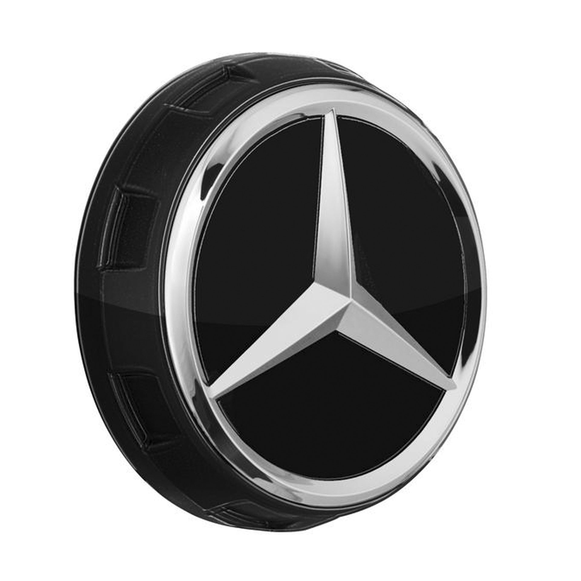 Mercedes-AMG Radnabenabdeckung Zentralverschlussdesign schwarz