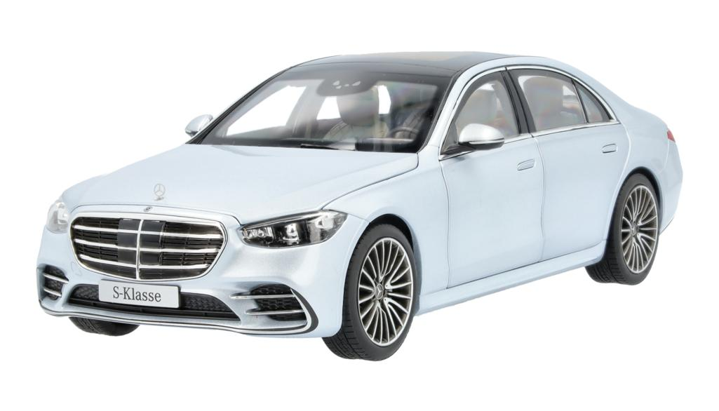 Mercedes-Benz Modellauto S-Klasse V223 1:18 hochsilber