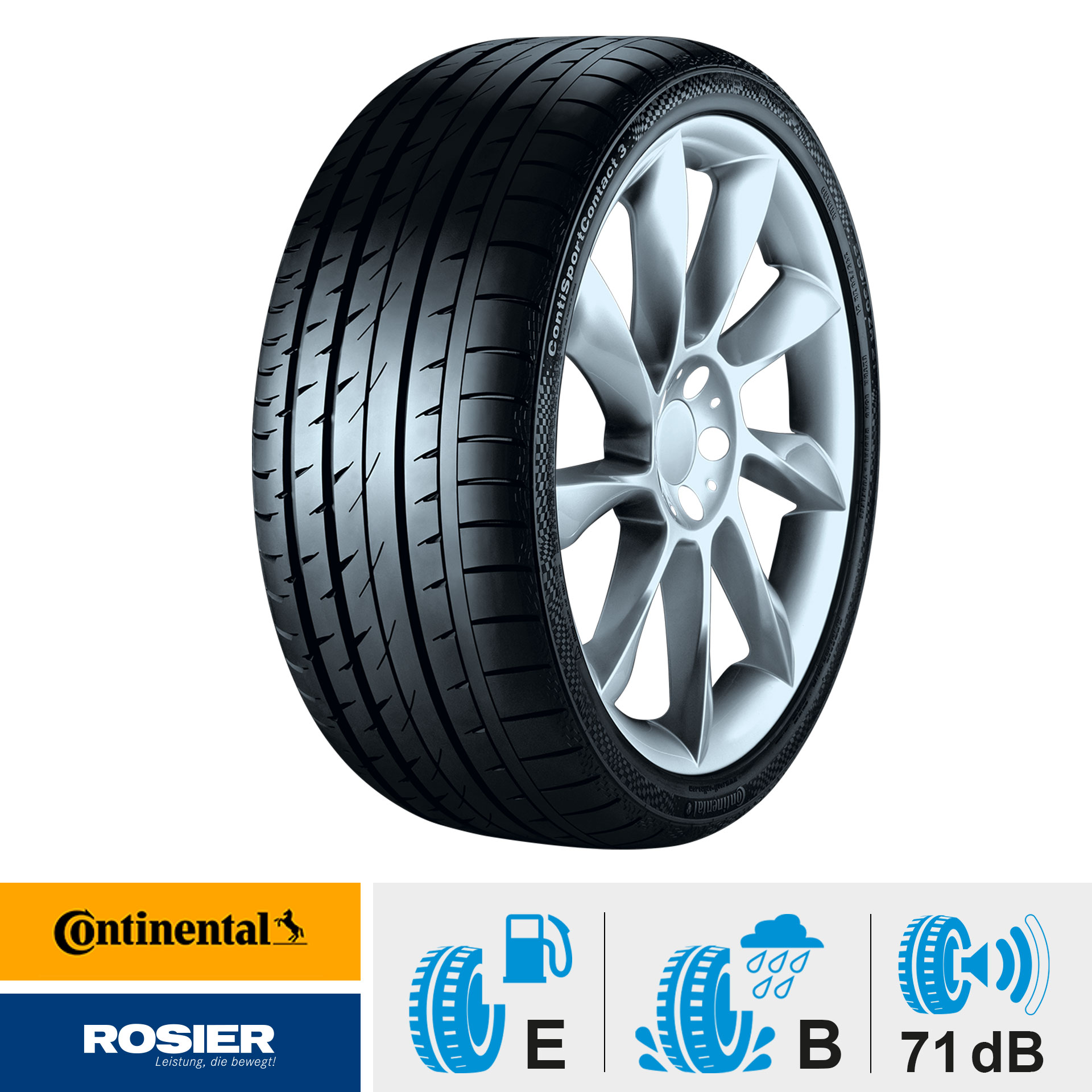 Continental ContiSportContact 3 MO 235/45/17 94W