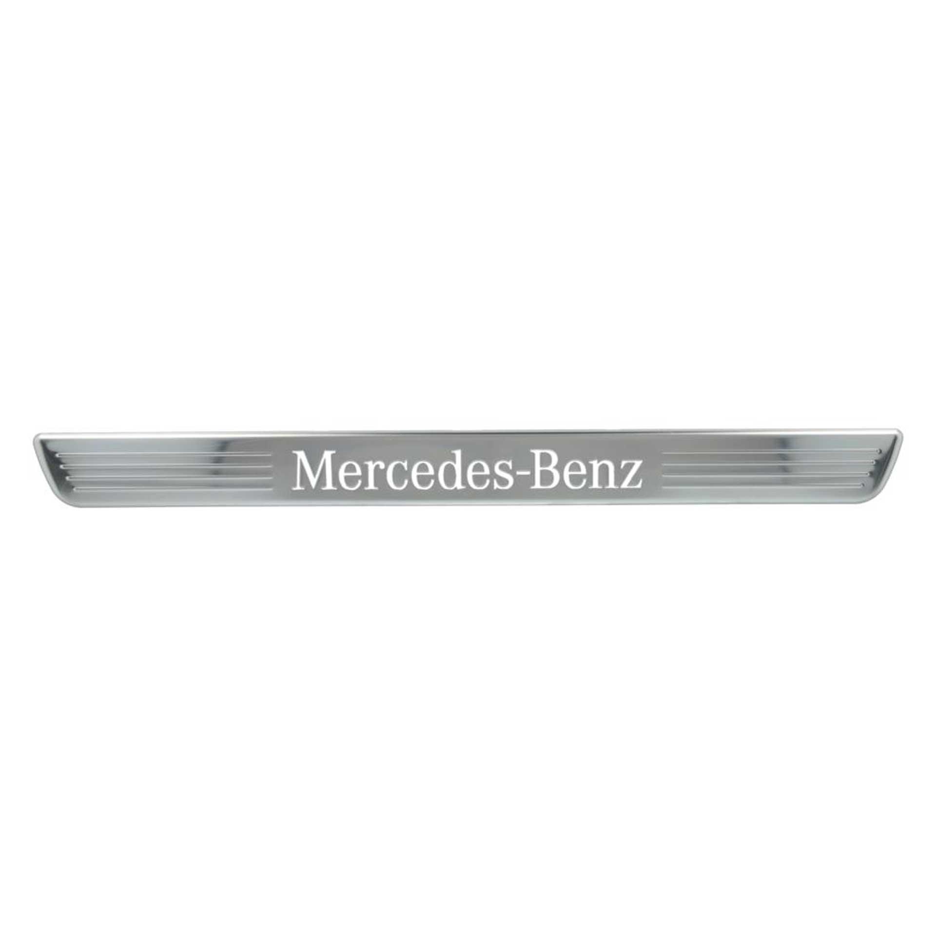 Mercedes-Benz Einstiegsleisten beleuchtet vorne Wechselcover 2-teilig A-Klasse CLA EQA GLA GLB GLE GLS