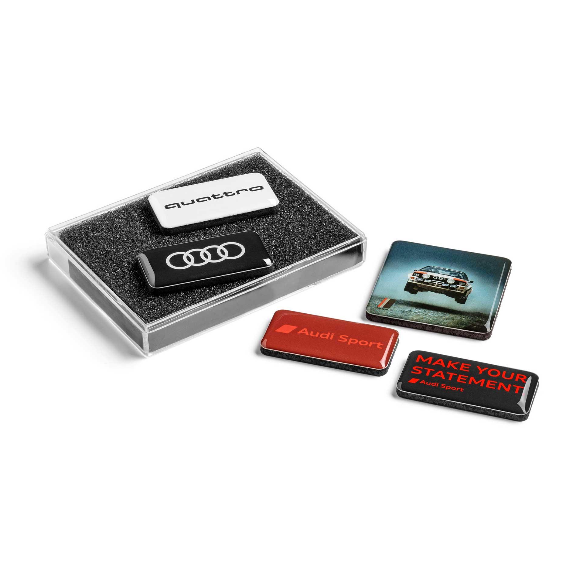 Audi Magnetset 5-teilig