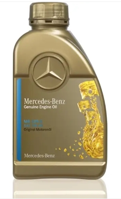 Original Mercedes-Benz Benziner Motorenöl SAE 5W-40 - MB-Freigabe 229.5