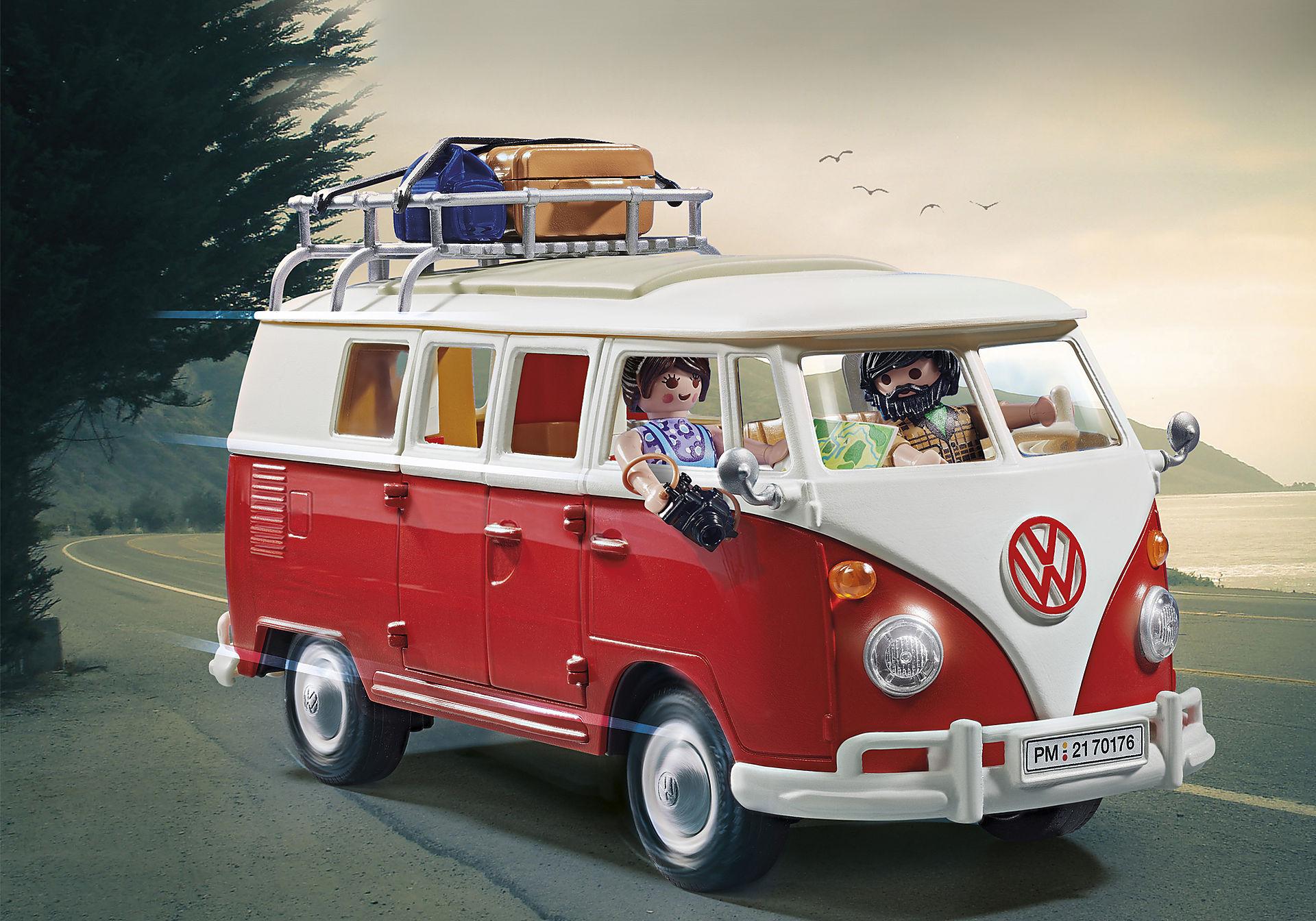 Volkswagen T1 Bulli Camping Bus Playmobil 70176