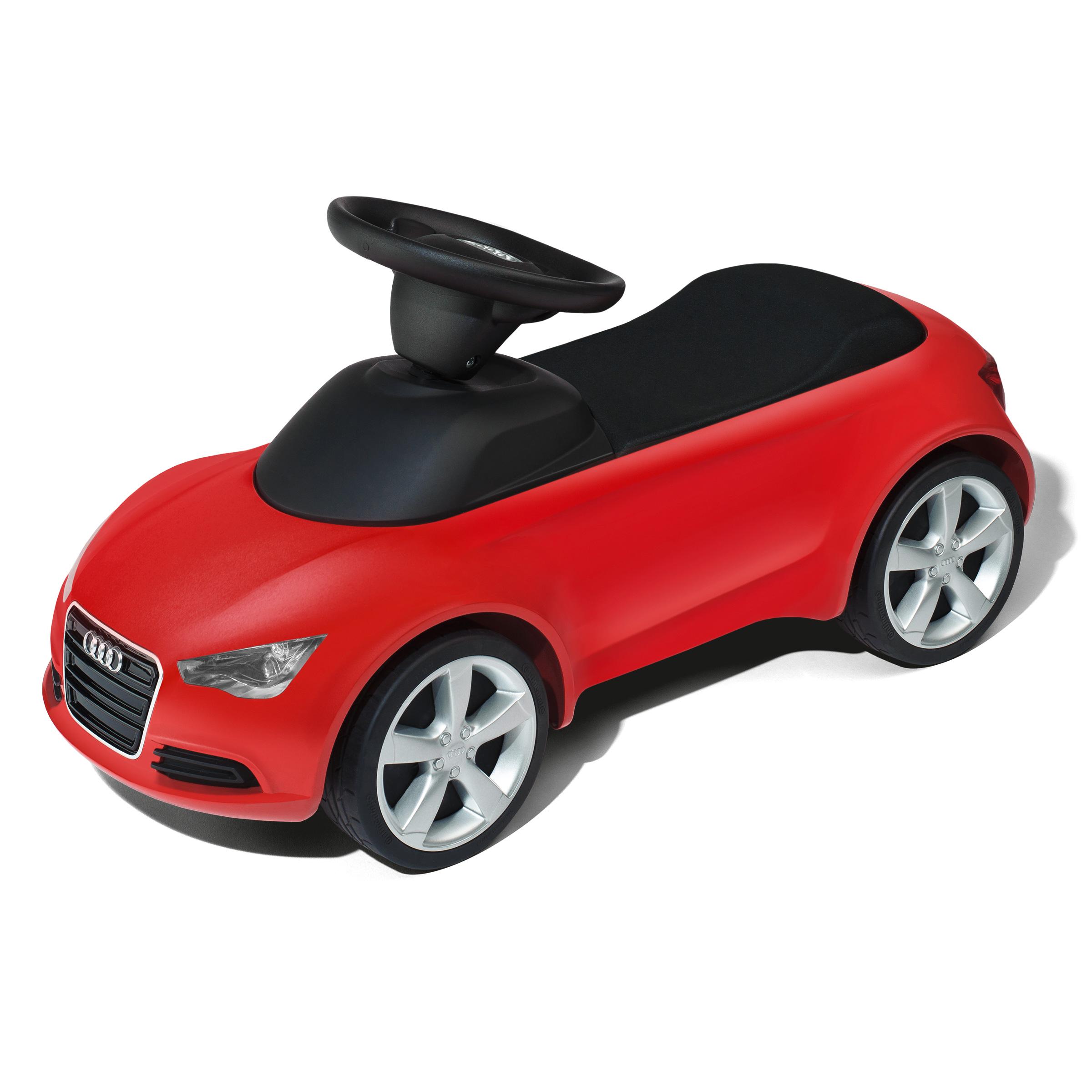 Audi Junior quattro Kinder rot