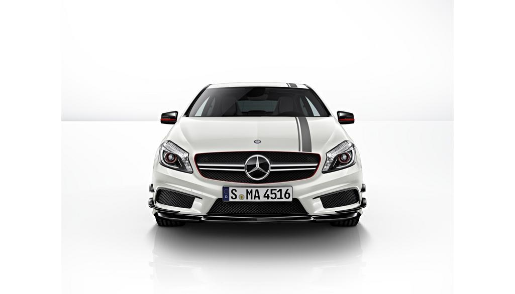 Mercedes-AMG A-Klasse W176  Sportstreifen-Paket Motorhaube und Panoramadach