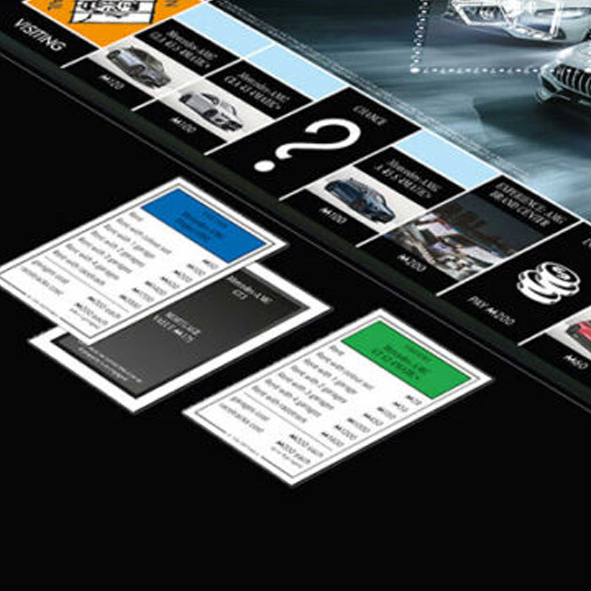 Mercedes-AMG Monopoly AMG Collection NEU