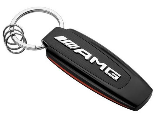 AMG GT Typo Schlüsselanhänger schwarz Original Mercedes-AMG Collection