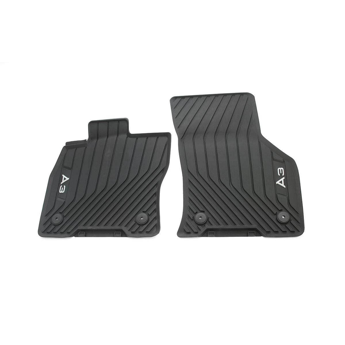 Audi Allwetter-Fußmatten A3 2 Stück Gummifußmatten Gummimatten