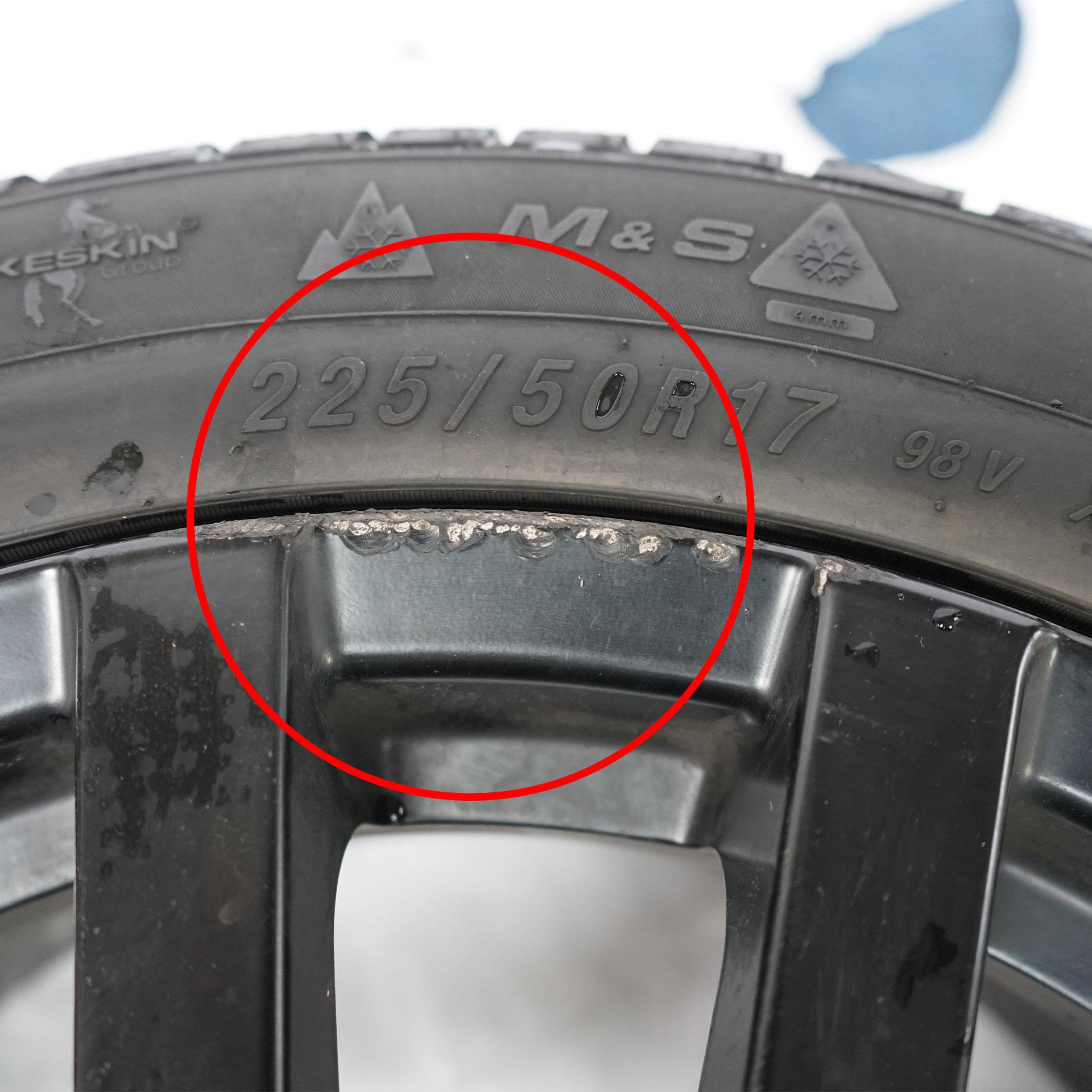 MSW 22 Gebrauchter Winterkomplettrad-Satz Syron