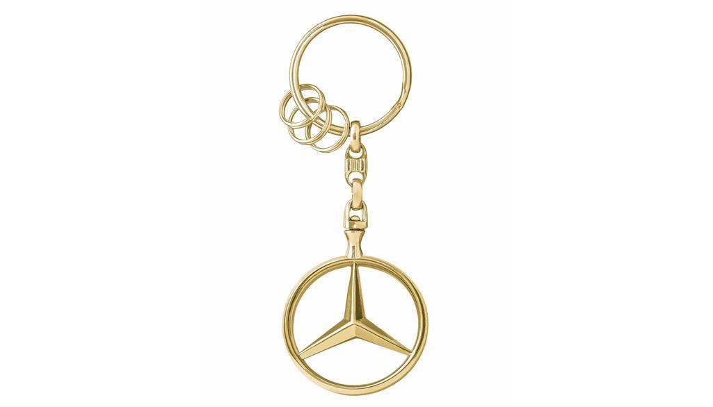 Mercedes-Benz Schlüsselanhänger Brüssel gold