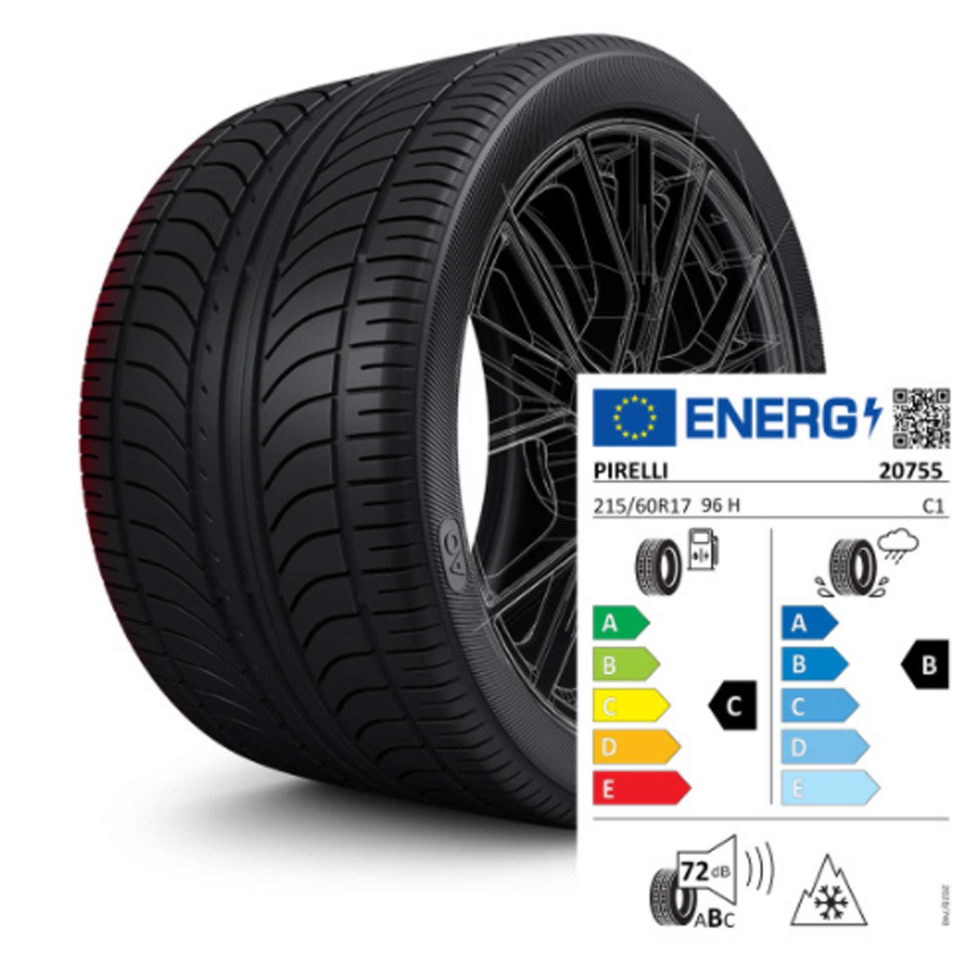 215/60 R17 96H Pirelli Sottozero 2 AO - Winterreifen