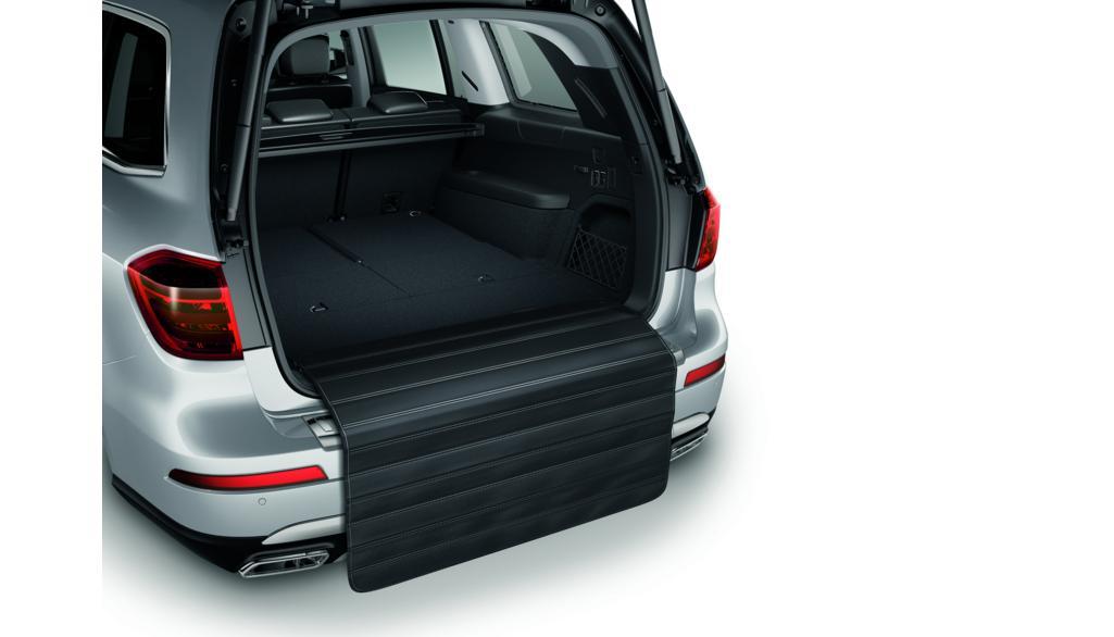 Mercedes-Benz Zick-Zack-Ladekantenschutz Kunststoff / Schaumstoff schwarz