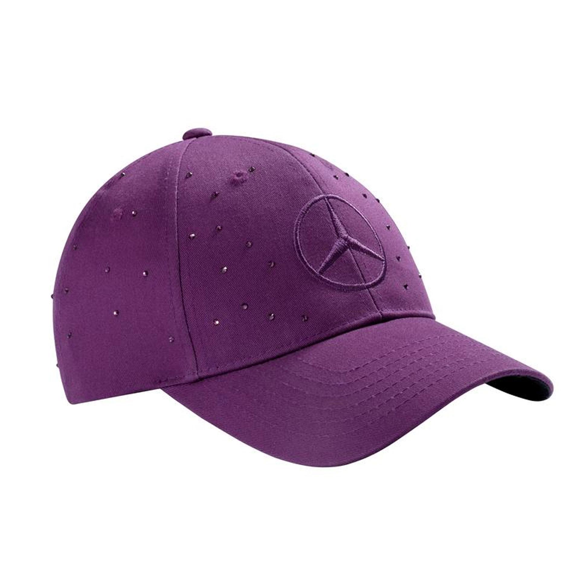 Mercedes-Benz Cap Swarowski-Kristalle Damen Basecap Kappe