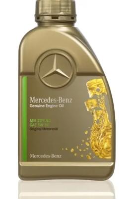 Original Mercedes-Benz Diesel Motorenöl SAE 5W-30 - MB-Freigabe 229.52