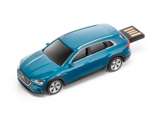 Audi e-tron USB-Stick - 32 GB  - antiguablau
