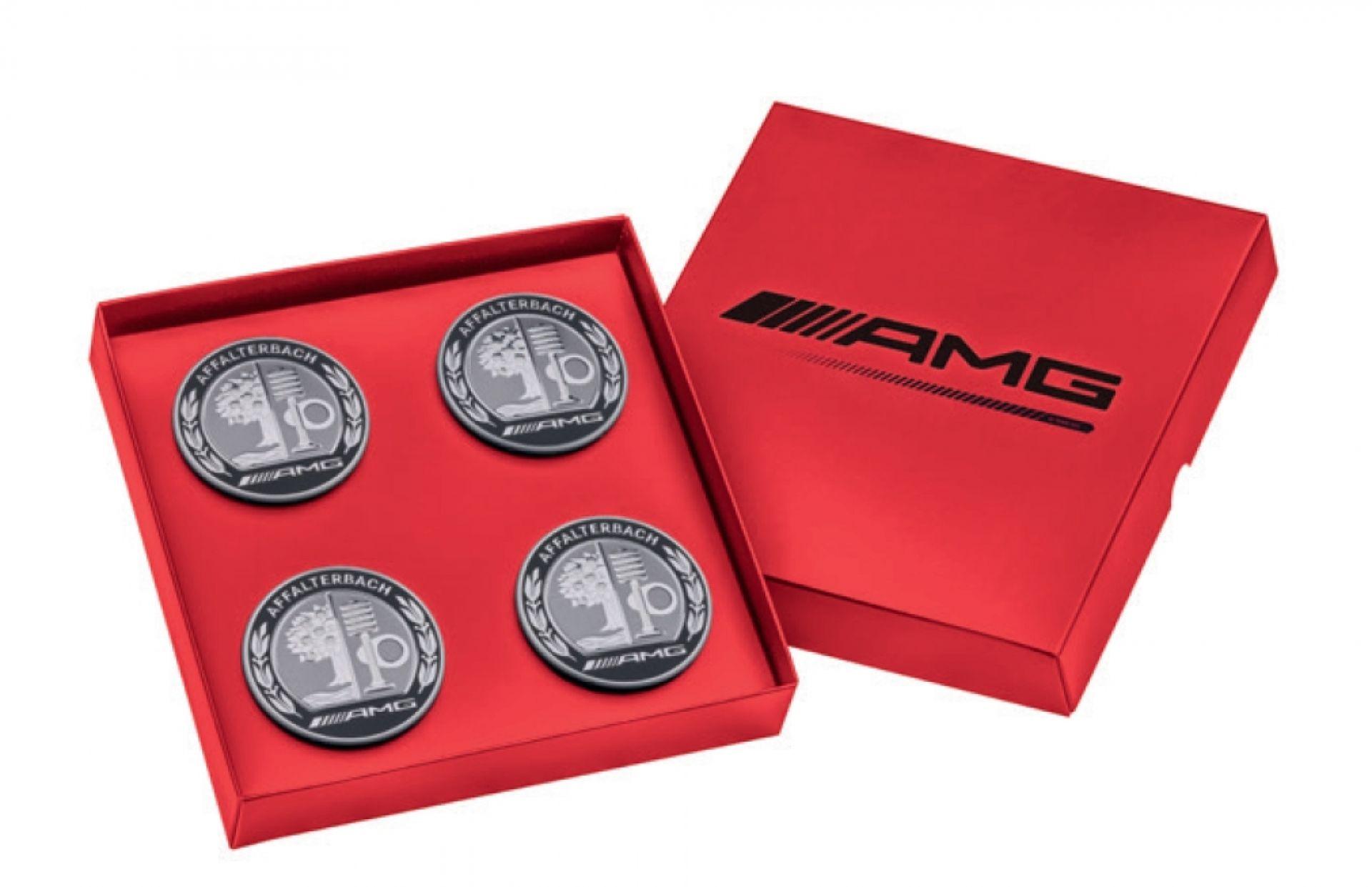 Mercedes-AMG Radnabenabdeckung mit AMG Wappen 4er Set