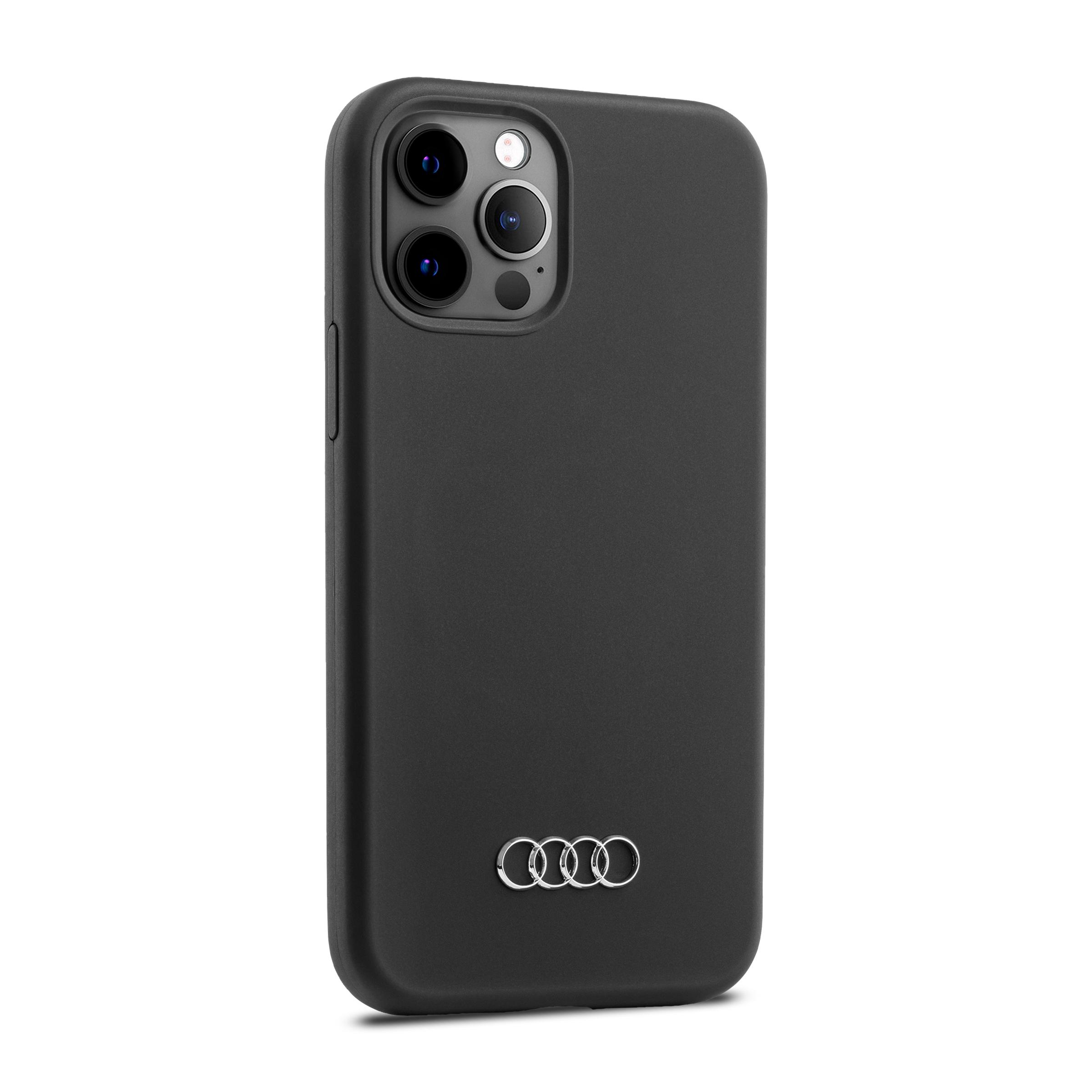 Audi Smartphonecase iPhone 12 / iPhone 12Pro schwarz