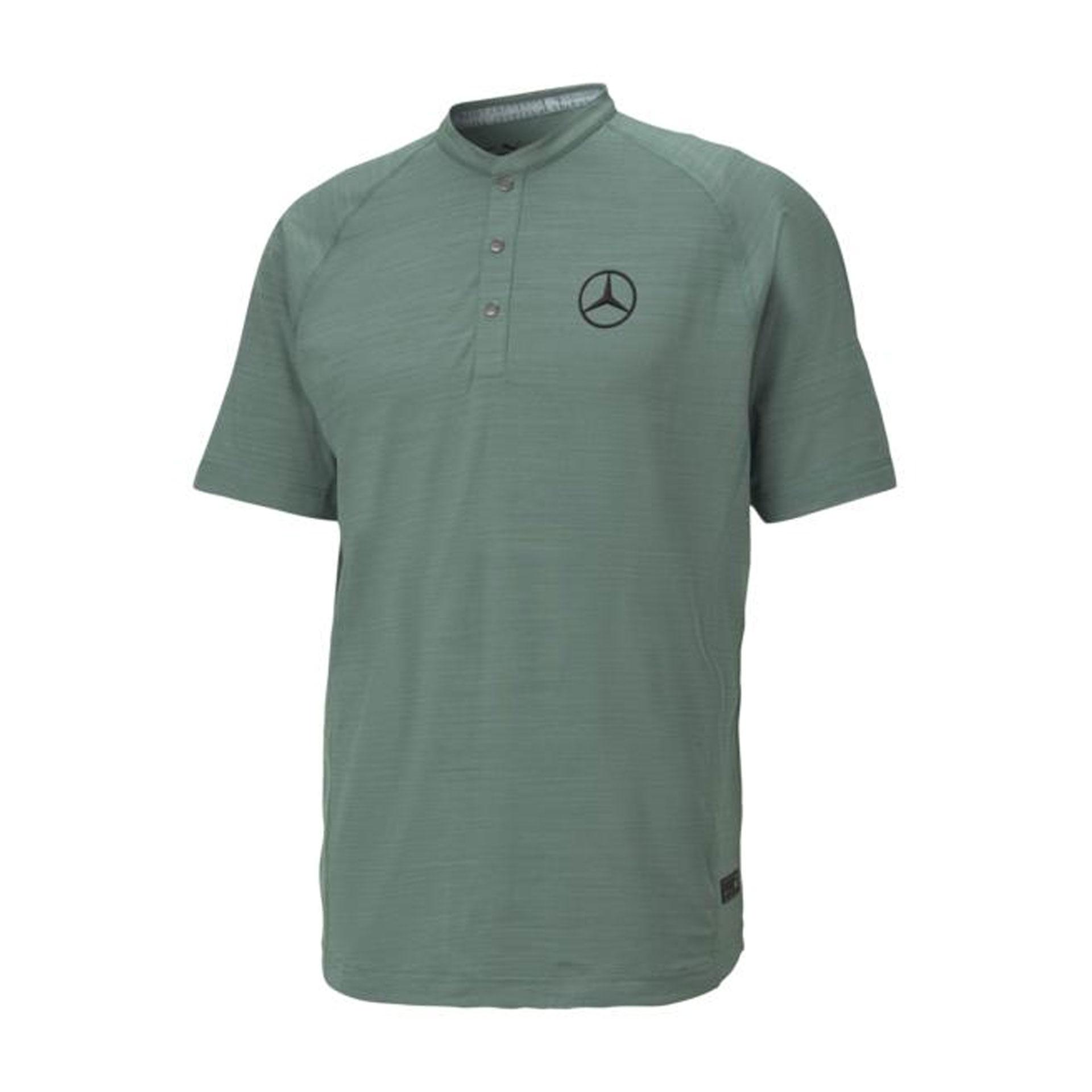 Mercedes-Benz Golf-Poloshirt Herren grün by PUMA Poloshirt