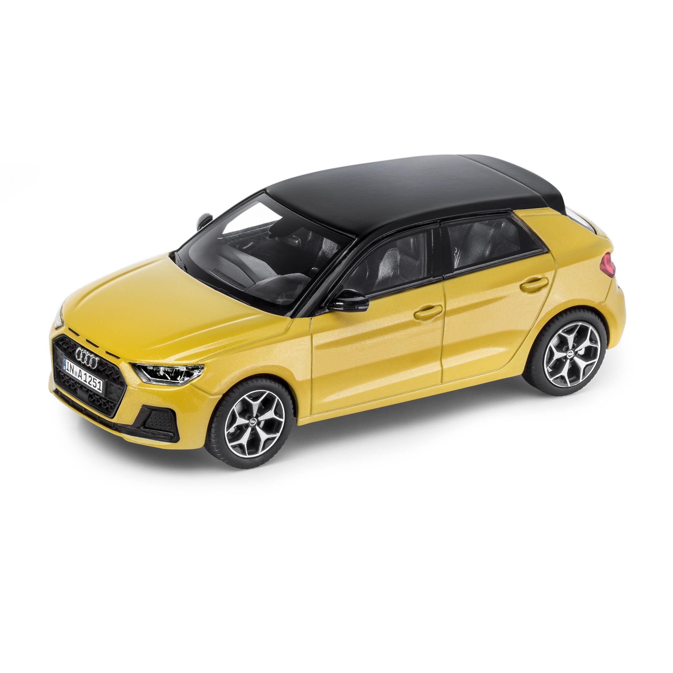 Audi A1 Sportback Phytongelb 1:43