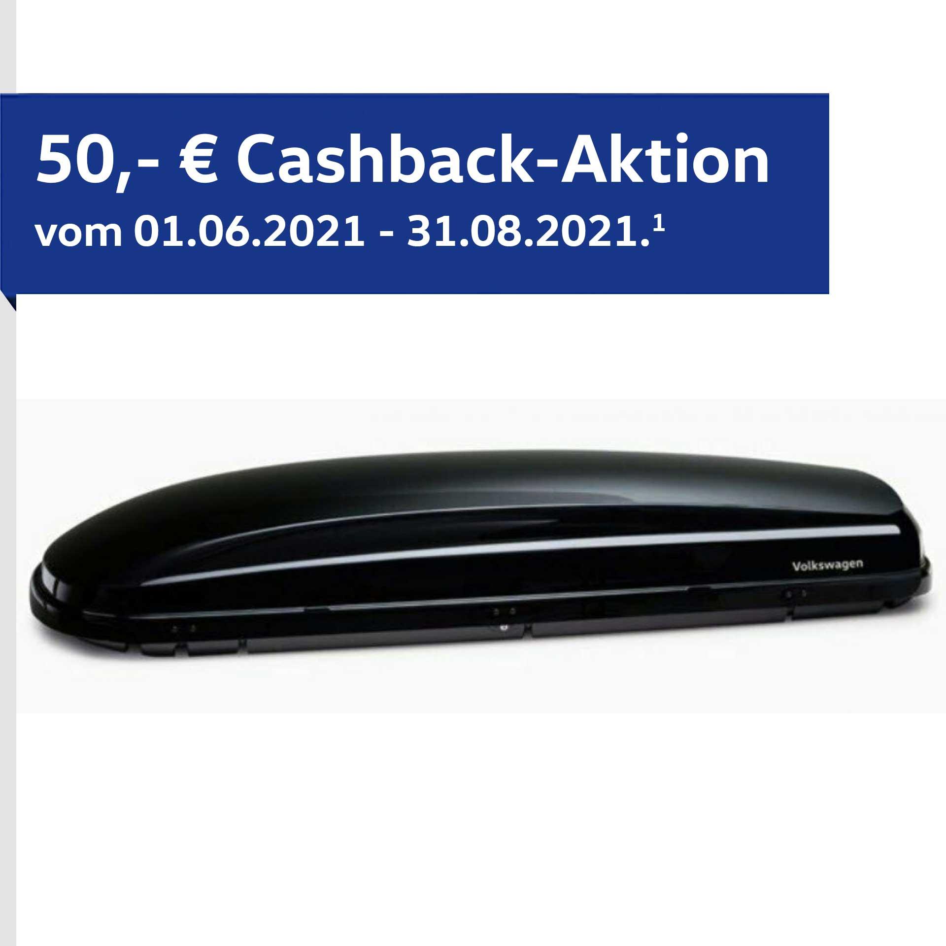 VW Original Basic Dachbox schwarz 460 l