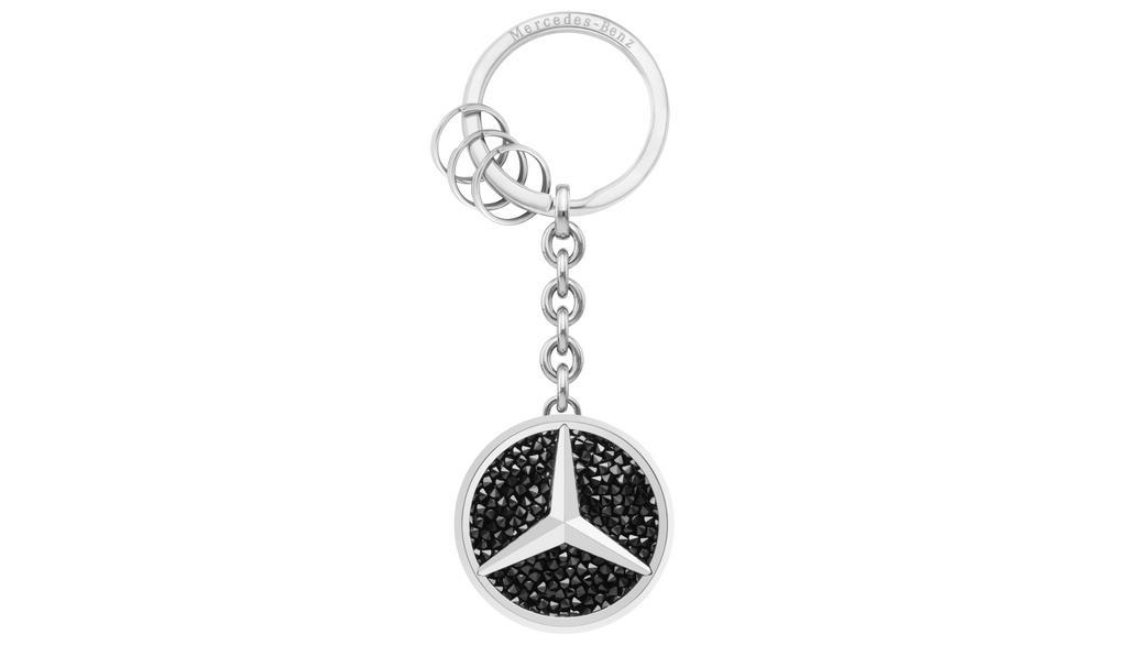 Mercedes-Benz Schlüsselanhänger St. Tropez schwarz Swarovski® Crystal