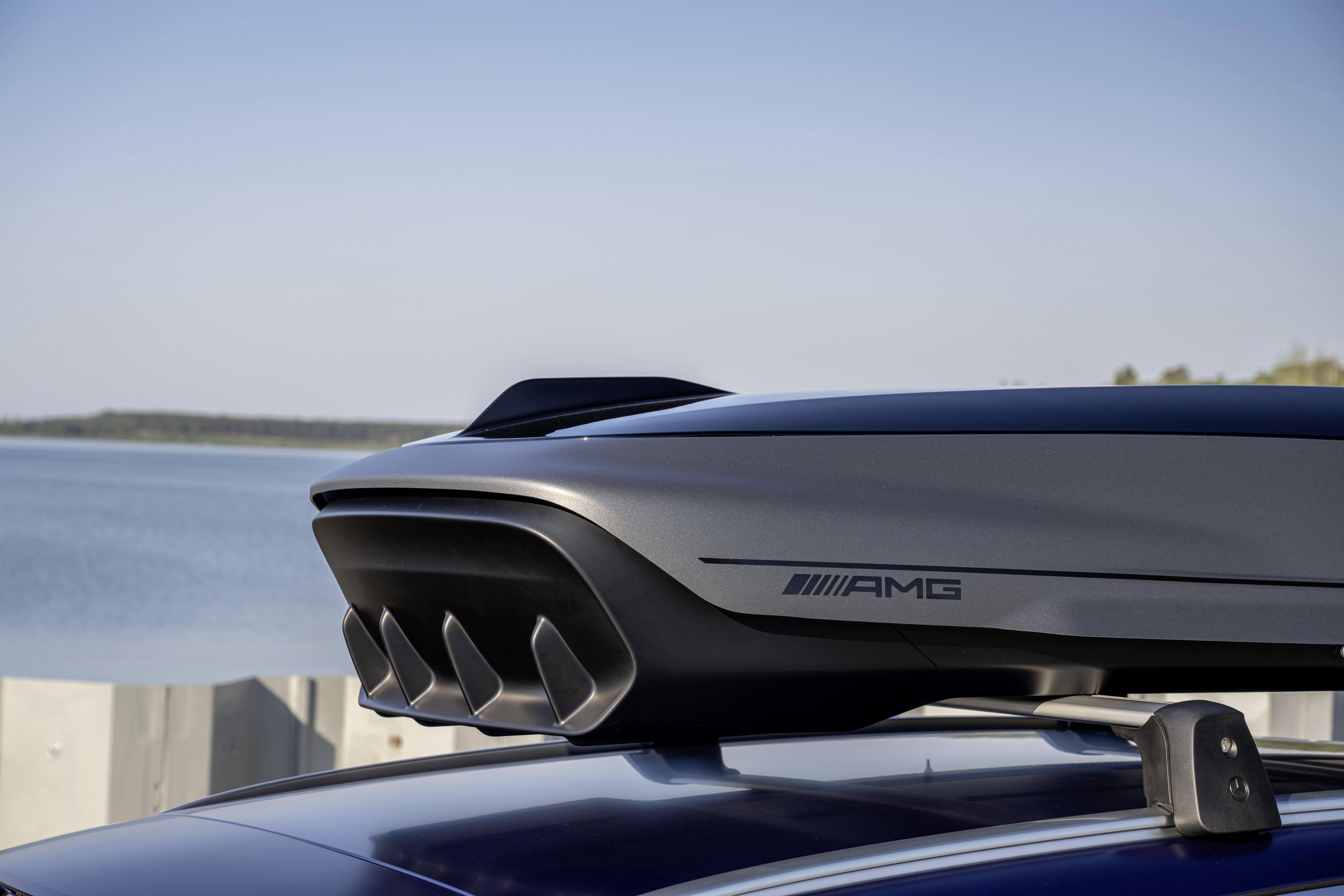 Mercedes-AMG Dachbox  für T-Modell Fahrzeuge - 410 l