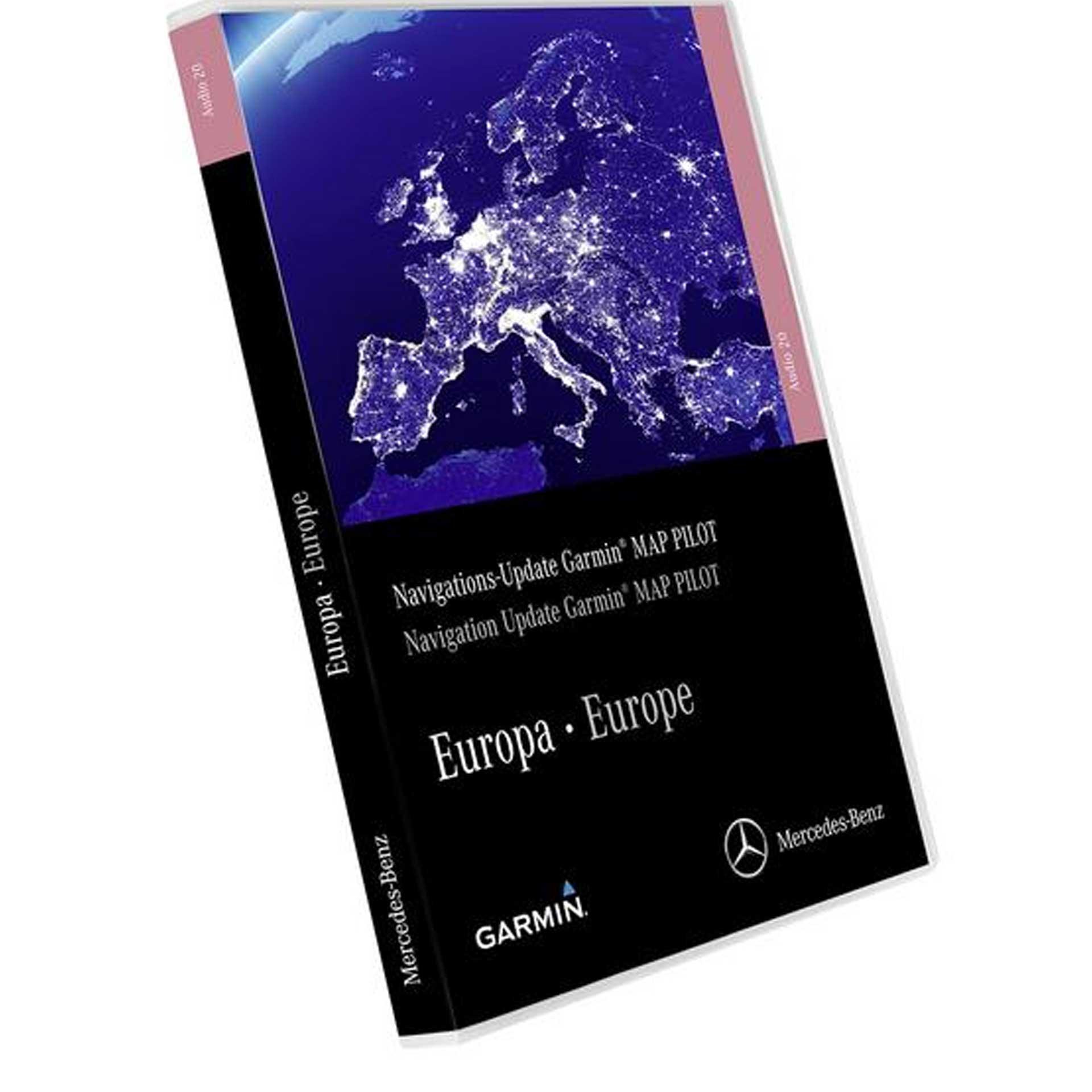 Mercedes-Benz Navigations-Update Garmin® MAP PILOT Europa Version 2021/2022
