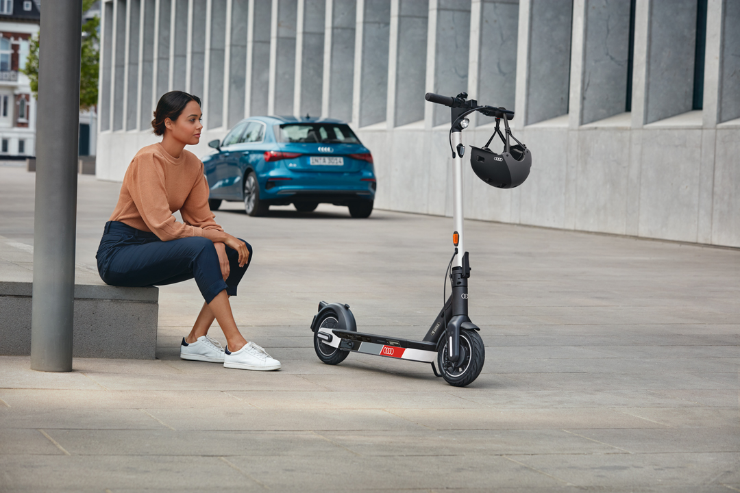 Audi electric kick scooter - powered by Segway