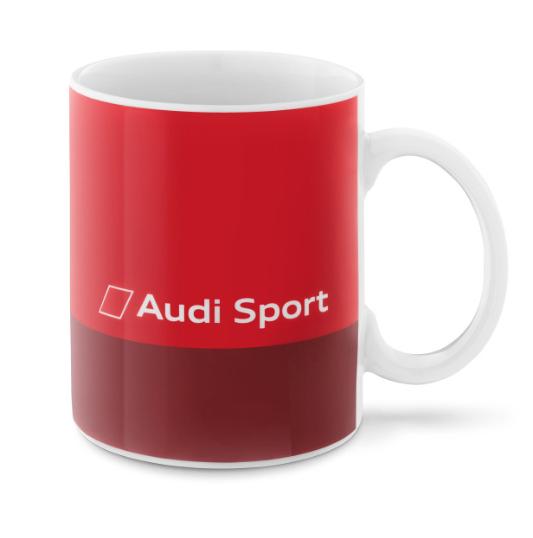 Audi Sport Becher Kaffeebecher - rot