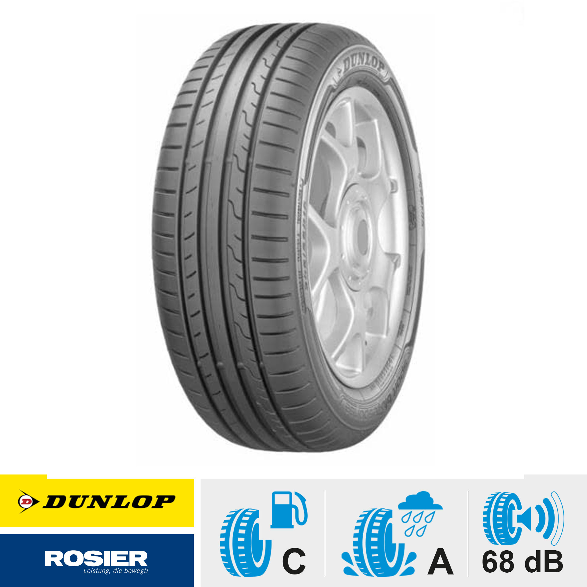 205/60 R16 95V Dunlop Sport BluResponse - Sommerreifen