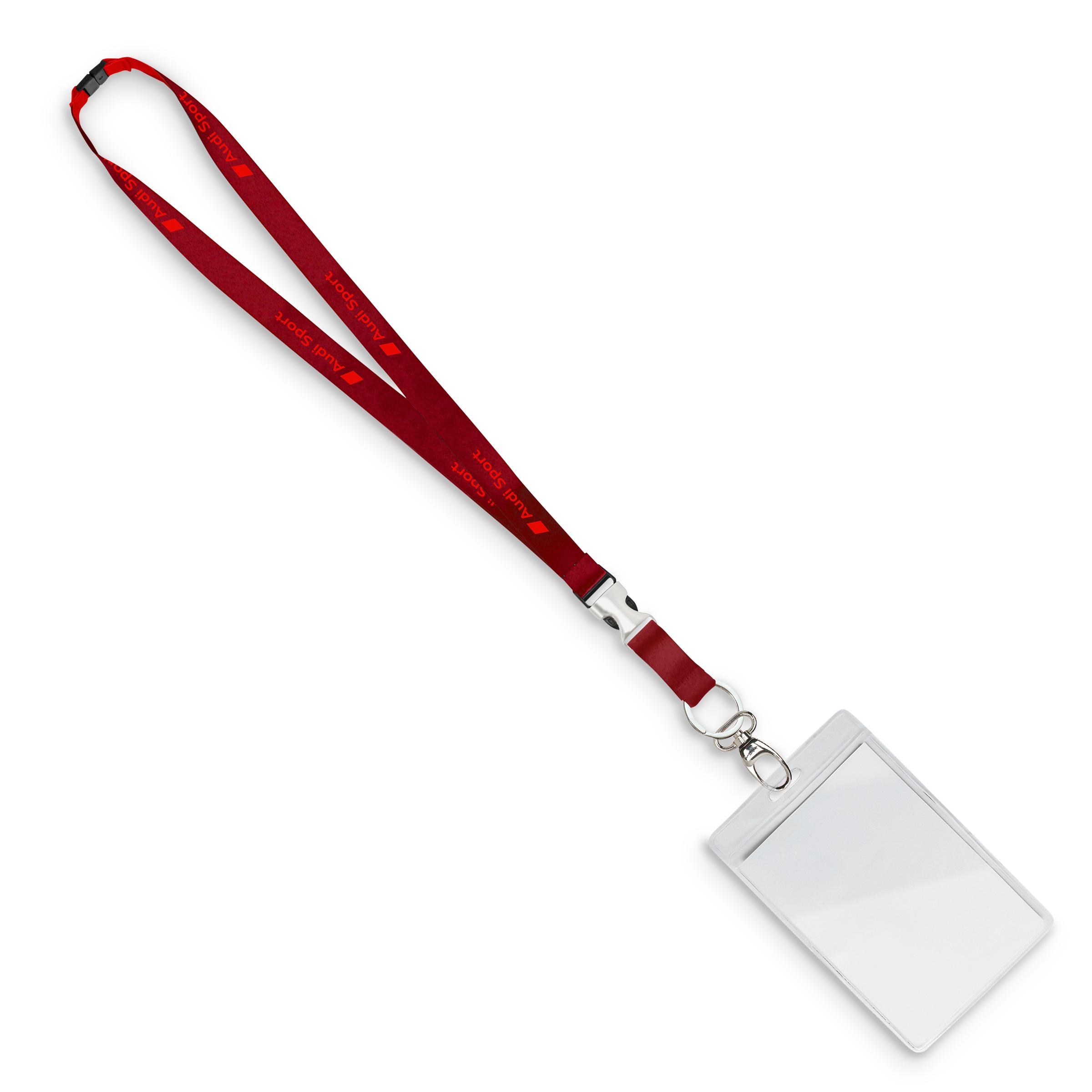 Audi Sport Schlüsselband rot