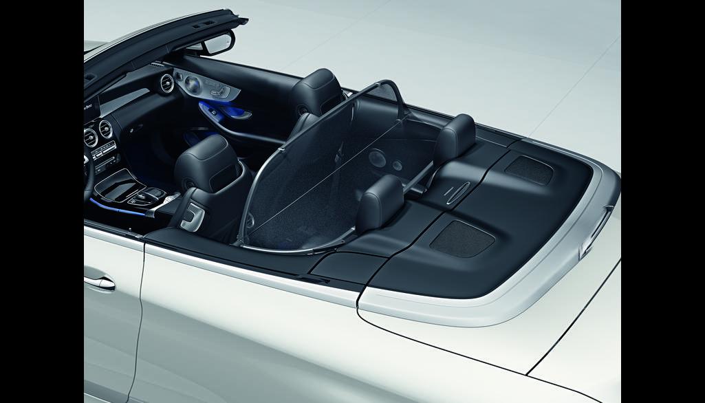 Mercedes-Benz Winkel-Windschott C-Klasse schwarz