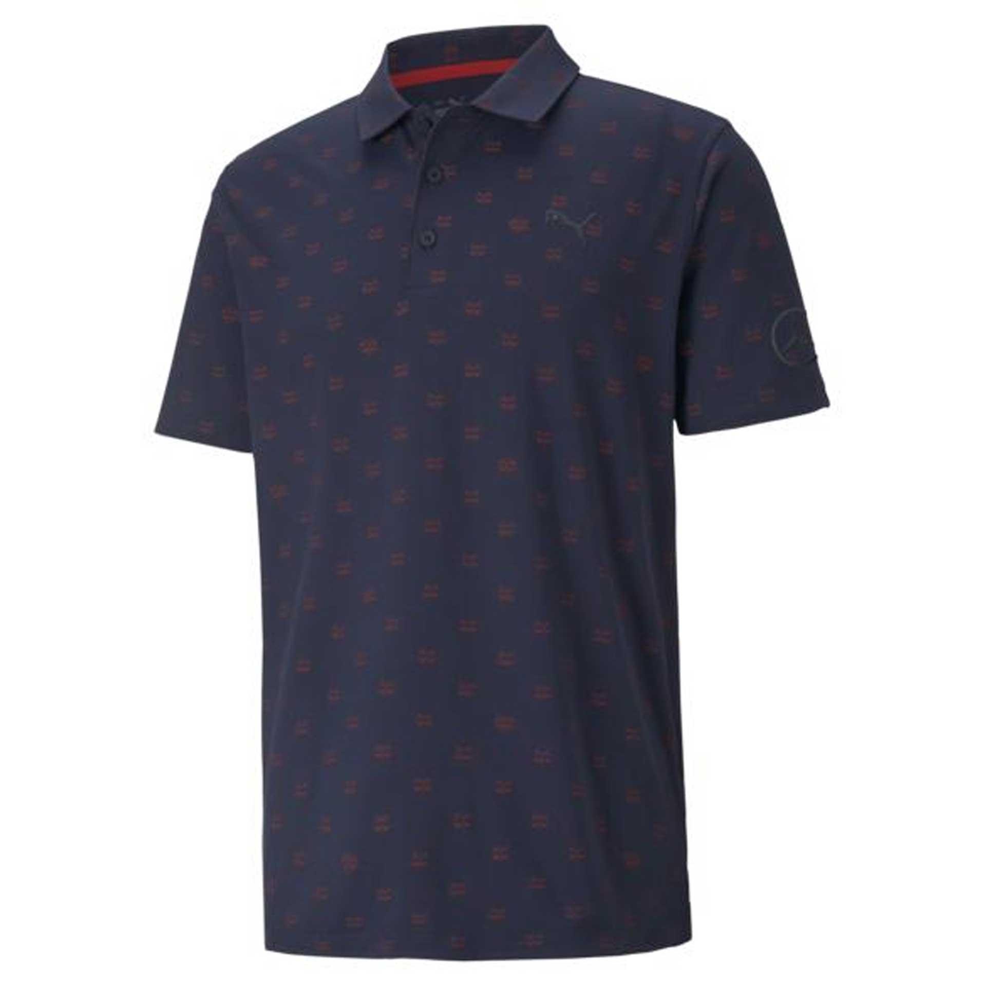 Mercedes-Benz Golf-Poloshirt Größe S Herren navy by PUMA Poloshirt