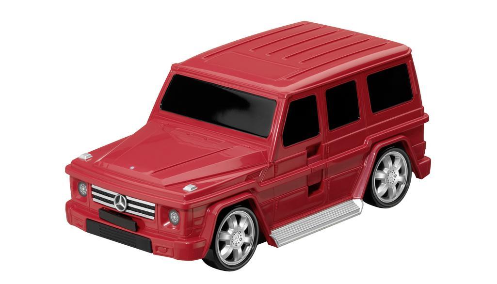 Mercedes-Benz G-Klasse Kinderkoffer rot Koffer
