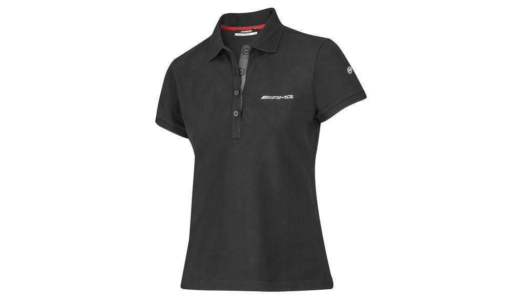 Mercedes-AMG Poloshirt Damen schwarz