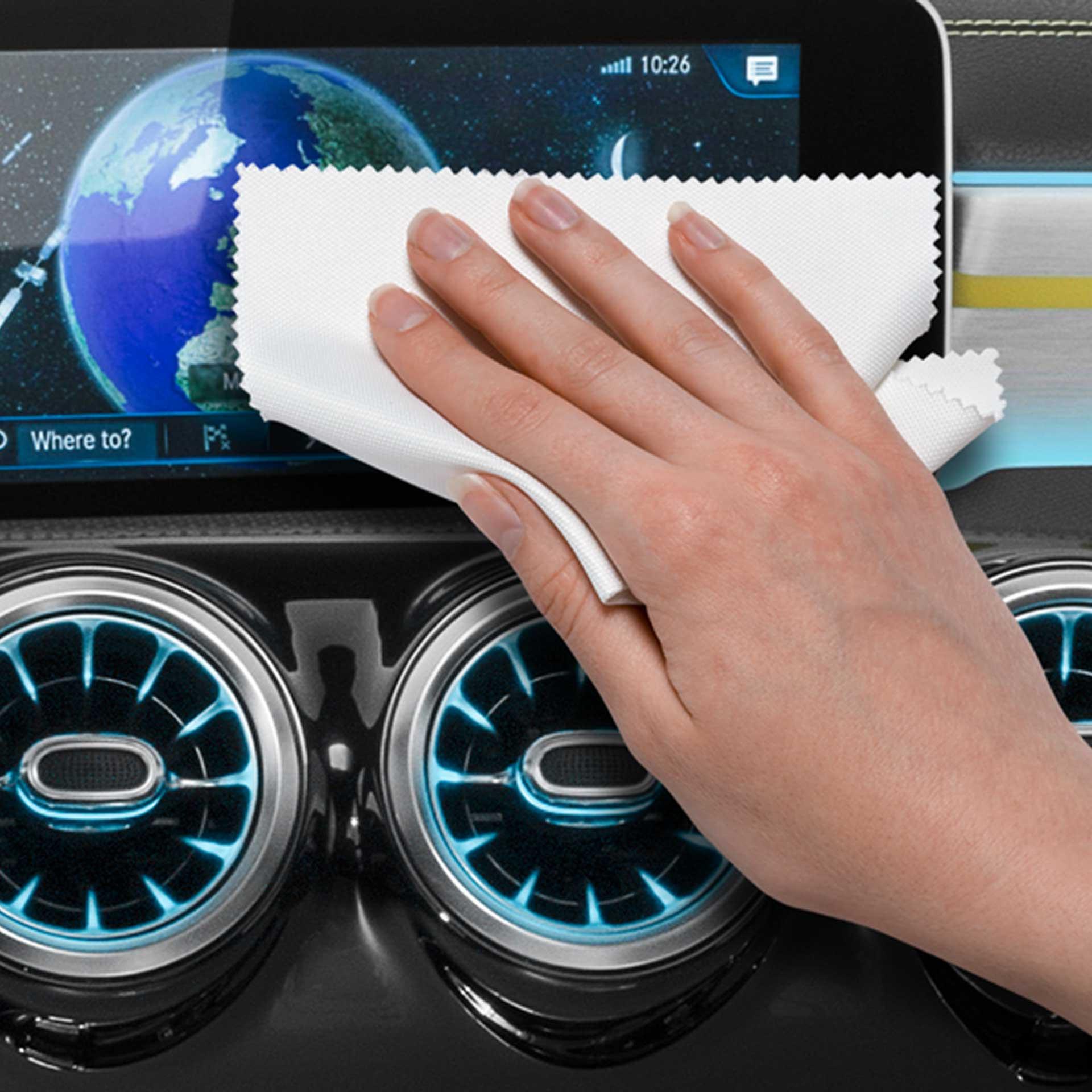 Mercedes-Benz Mikrofasertuch  für Bildschirmoberflächen
