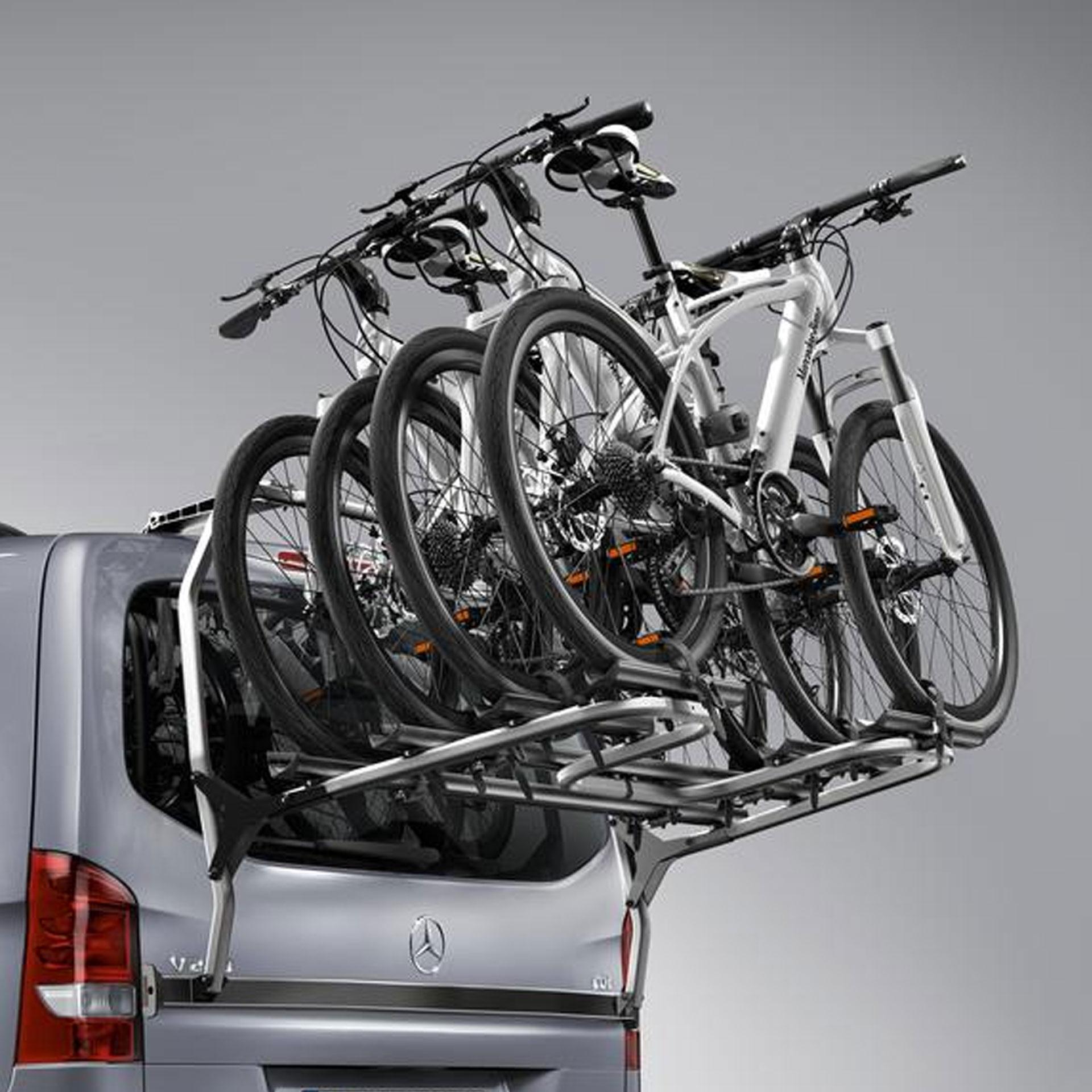 Mercedes-Benz Fahrradträger für Heckklappe 3 Fahrräder